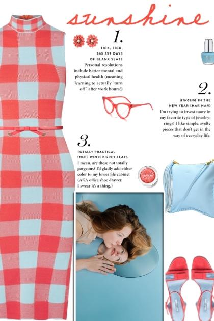 How to wear a Stretch Jacquard Knit Midi Dress!