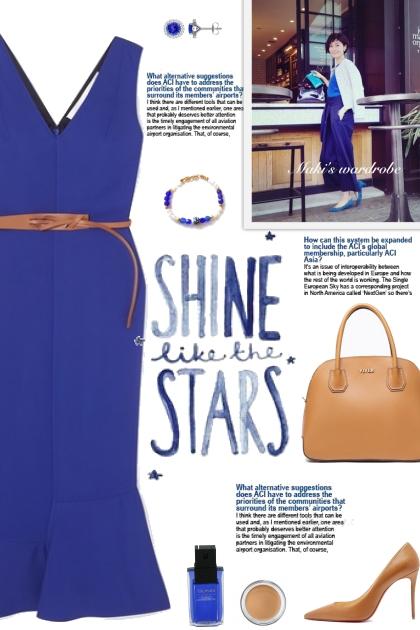 How to wear a Belt Fluted Sleeveless Dress!