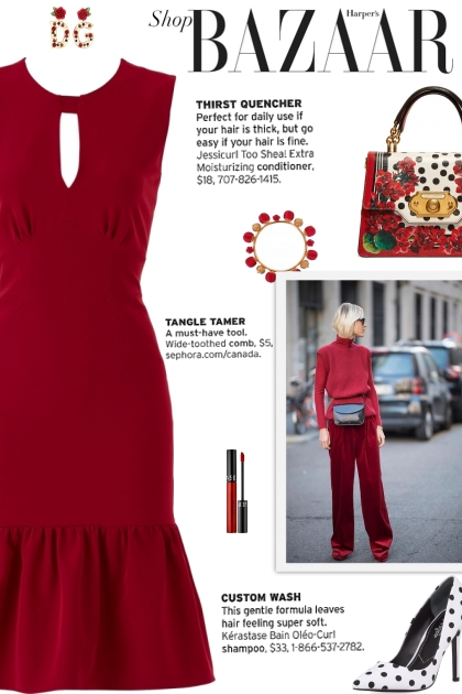 How to wear a Flouncy Ruffled Hem Dress!