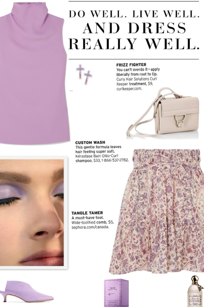 How to wear a Pleated Floral Printed Mini Skirt!