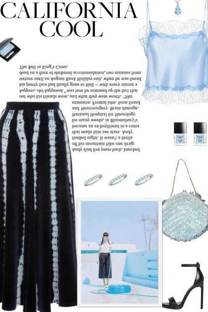 How to wear a Tie Dye A-Line Midi Skirt!
