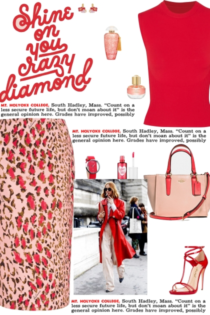 How to wear a High Waisted Leopard Print Skirt!