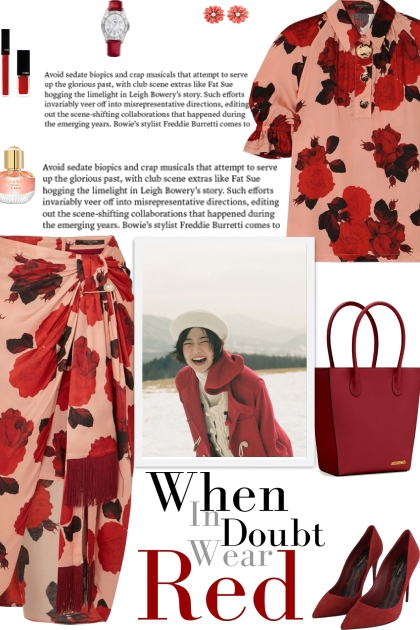 How to wear Co-Ord Ruched Floral Print Skirt Suit!