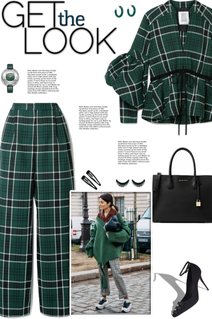 How to wear a Co-Ord Plaid Fitted Pantsuit!