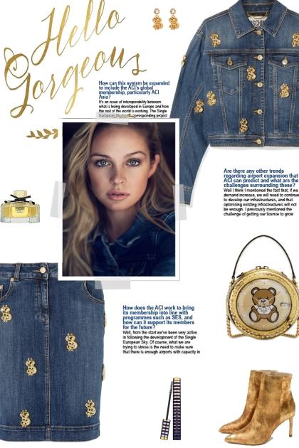 How to wear a Co-Ord Embellished Denim Set!