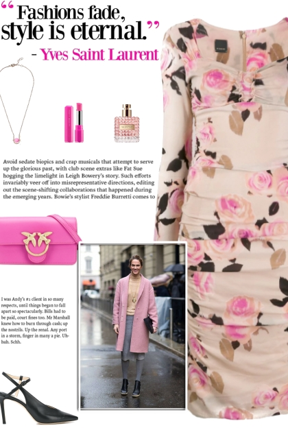 How to wear a Sweetheart Neckline Floral Dress!