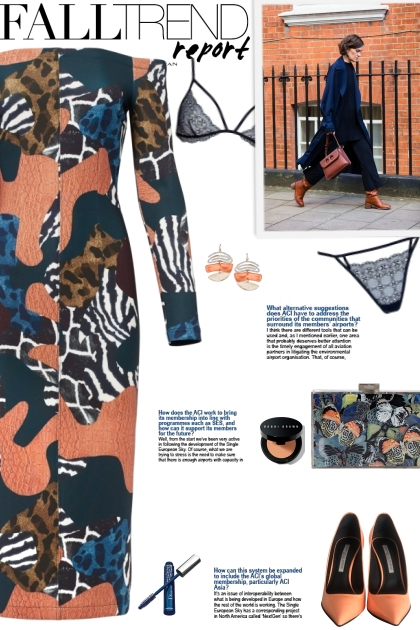 How to wear ar Animal Print Patchwork Dress!