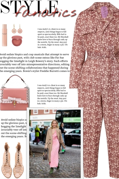 How to wear a Collar & Belted Floral Jumpsuit!