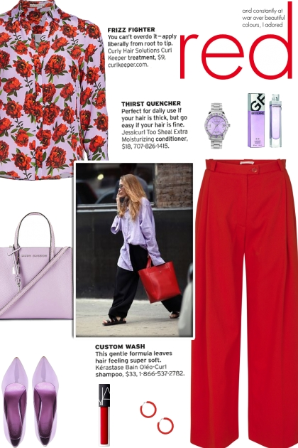How to wear a Floral Silk Long Sleeve Shirt!