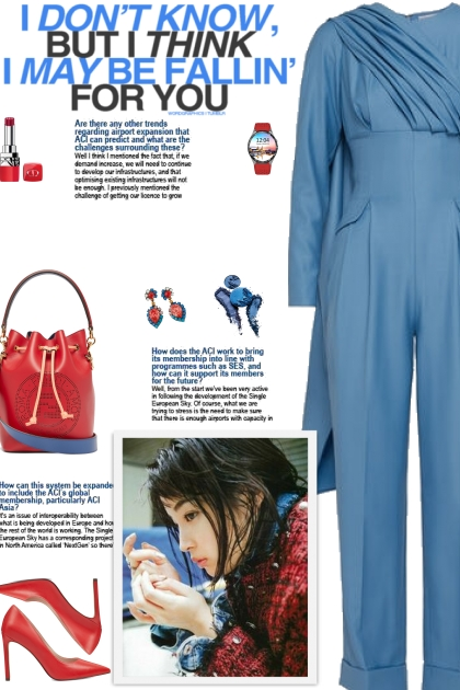 How to wear a Cape-Effect Wool Jumpsuit!