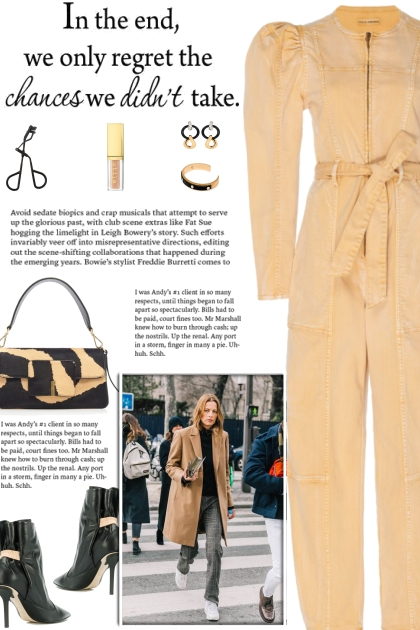 How to wear a Straight Leg Belted Jumpsuit!