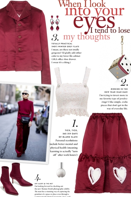 How to wear a Co-Ord Satin Skirt Set!