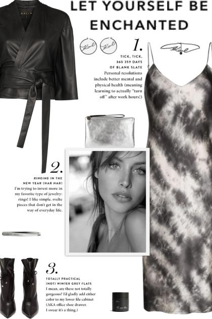How to wear a Leather Kimono Crop Jacket!