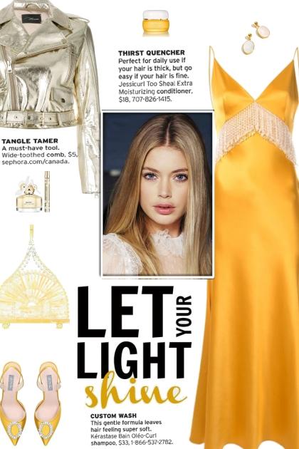 How to wear a Fringe Detail Satin Midi Dress!