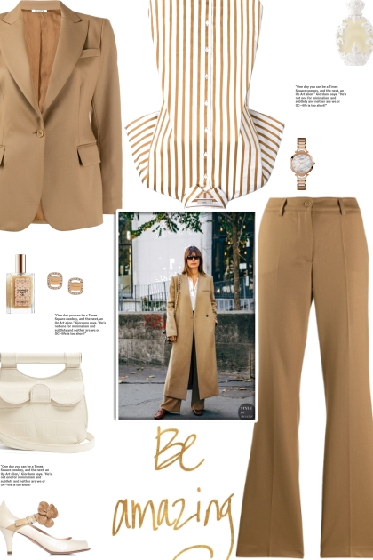 How to wear a Co-Ord Wool Blend Suit Set!