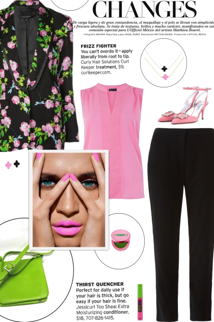 How to wear a Multicolored Floral Print Blazer!