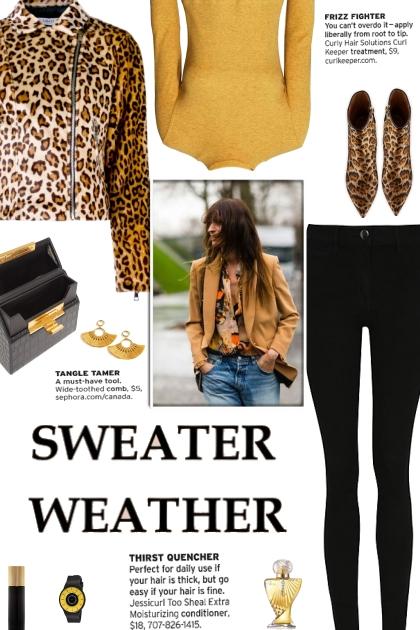 How to wear a Leopard Print Faux Fur Biker Jacket!