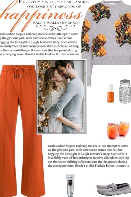 How to wear an Alpaca-Blend Floral Sweater!