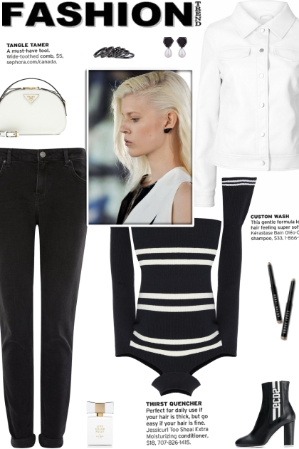 How to wear a CutOut Striped Sweater!