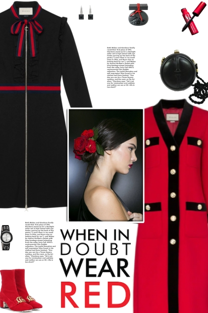 How to wear a Velvet Trim Single Breasted Coat!- Fashion set