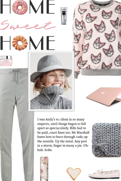 How to wear a Cat Print Sweater!