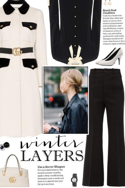 How to wear a Belted Straight A-Line Coat!