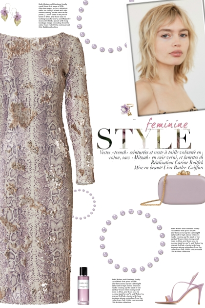 How to wear an Animal Print Sequin Dress!