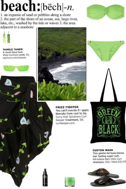 How to wear a Bandeau Wide Strap Bikini Set!
