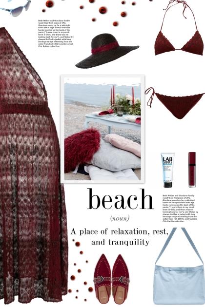How to wear a Metallic Knit Bikini Set!