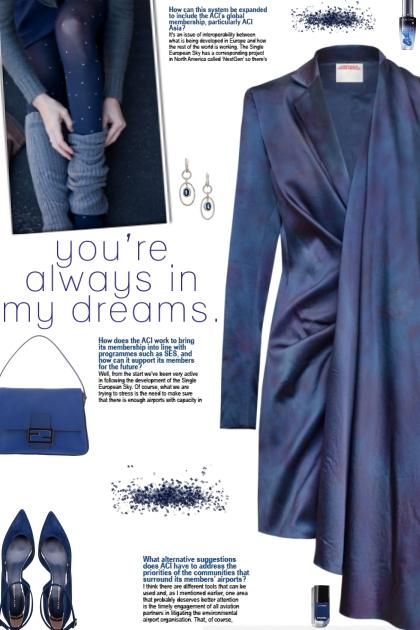 How to wear a Draped Silk Blazer Dress!