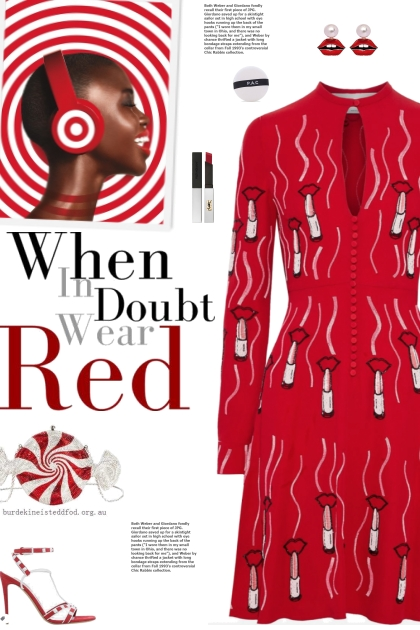 How to wear a Cinched Waist Keyhole A-line Dress!