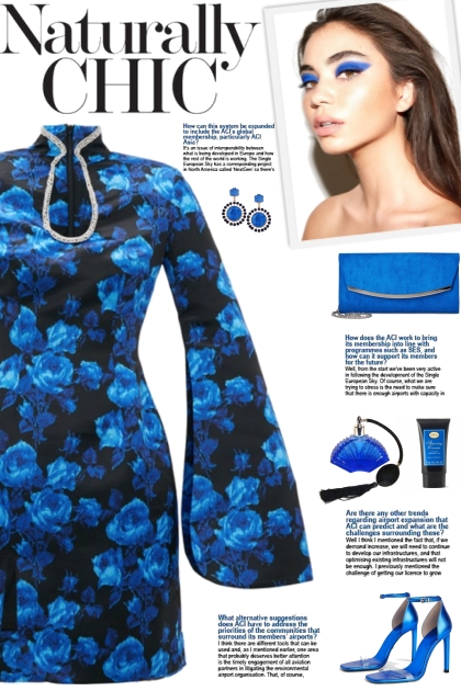 How to wear a Crystal Embellish Floral Mini Dress!
