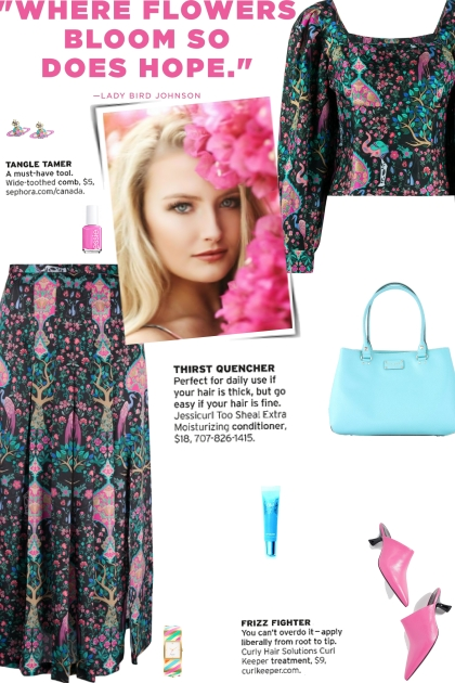 How to wear a Co-Ord Multicolor Floral Print Set!