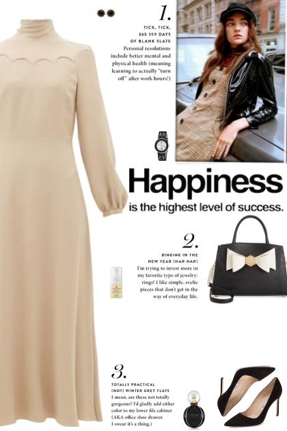 How to wear a Tie-Neck Scallop Detail Midi Dress!
