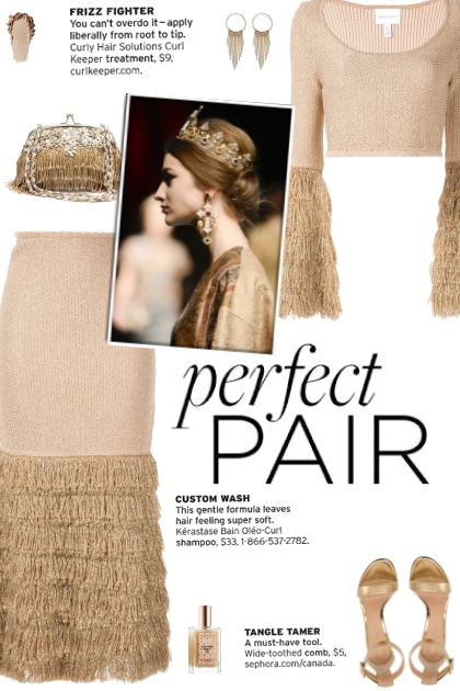 How to wear a Co-Ord Tiered Fringe Skirt Set!