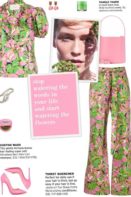 How to wear a Co-Ord Floral Print Multicolor Set!