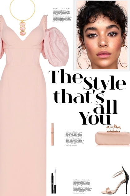 How to wear an Oversized Puff Sleeve Crepe Dress!