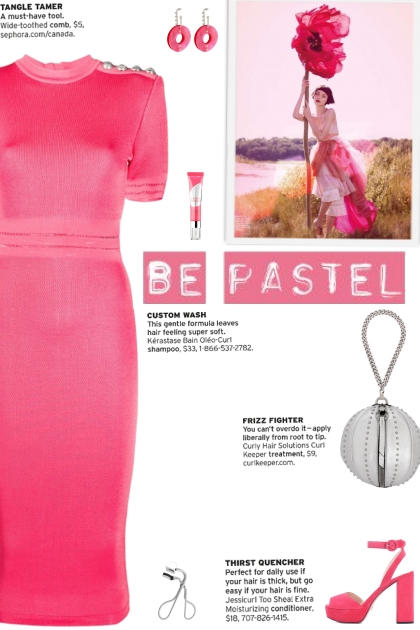 How to wear a Fitted Button Fastening Dress!