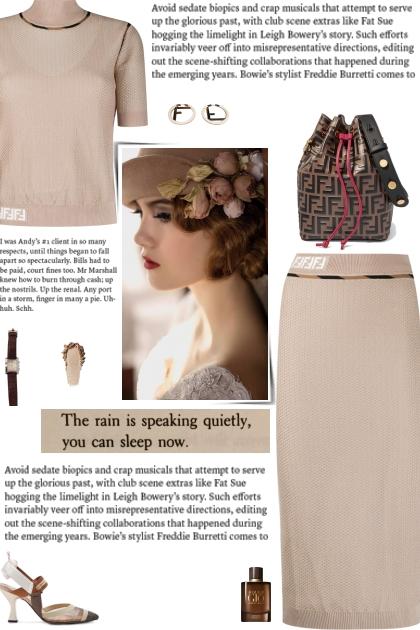 How to wear a Co-Ord Logo Motif Woven Skirt Set!