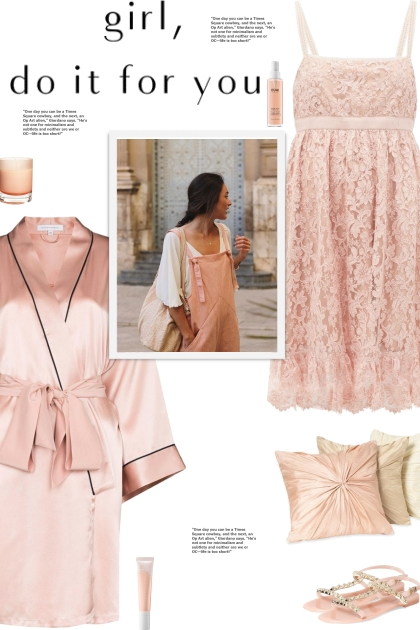 How to wear a Floral Lace Babydoll Nightdress!