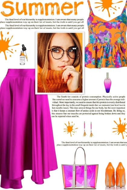 How to wear a Floral Print Peplum Crop Top!