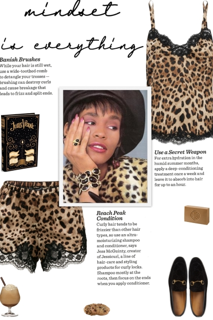 How to wear a Co-Ord Leopard Print Pajama Set!