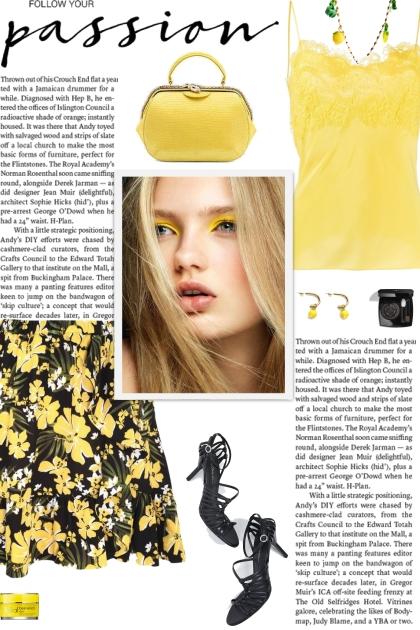 How to wear a Floral Print Ruffle Mini Skirt!