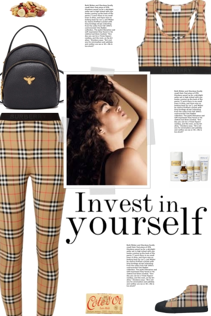 How to wear a Co-Ord Check Vintage Activewear Set!