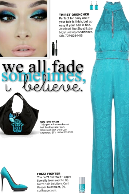 How to wear a Floral Print Halter-Neck Jumpsuit!