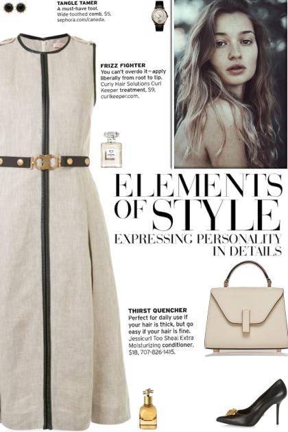 How to wear a Belted Waist Round Neck Midi Dress!