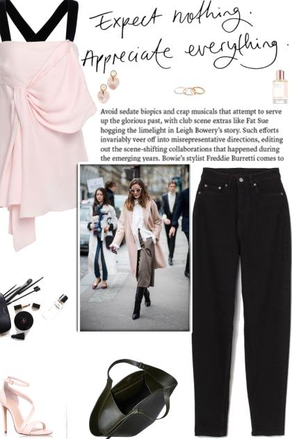 How to wear a Draped Velvet Trim Sleeveless Top!
