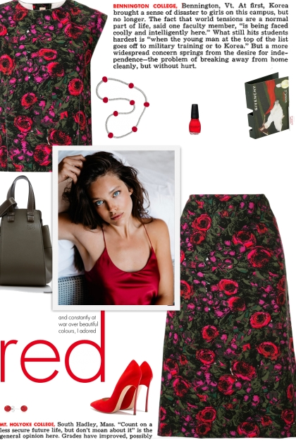 How to wear Co-Ord Floral Print Straight-Fit Set!