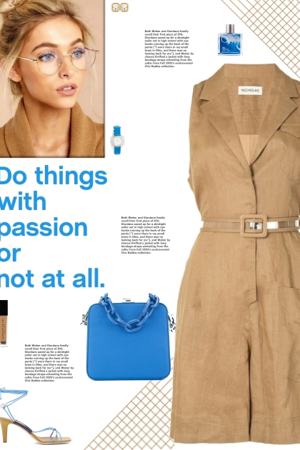 How to wear a Safari-Inspired Belted Playsuit!