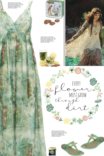 How to wear a Floral Print Maxi Nightdress!